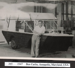 Half Safe and Ben Carlin in 1947