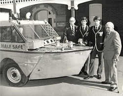 Half Safe returned to Guildford Grammar School in 1984